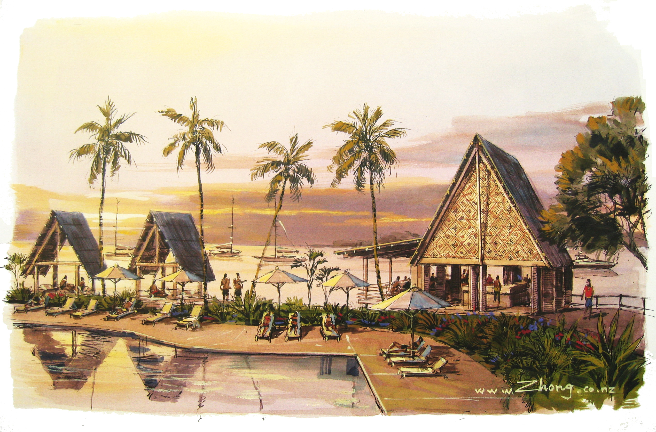 Tropical Hotel